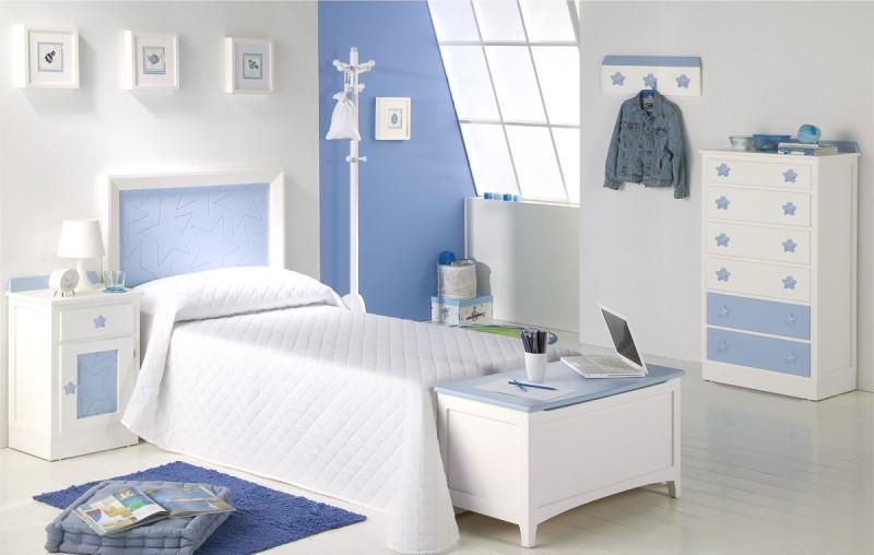 habitaciones pintadas de azul Ideas Para Pintar Las Habitaciones Infantiles Bainba Blog