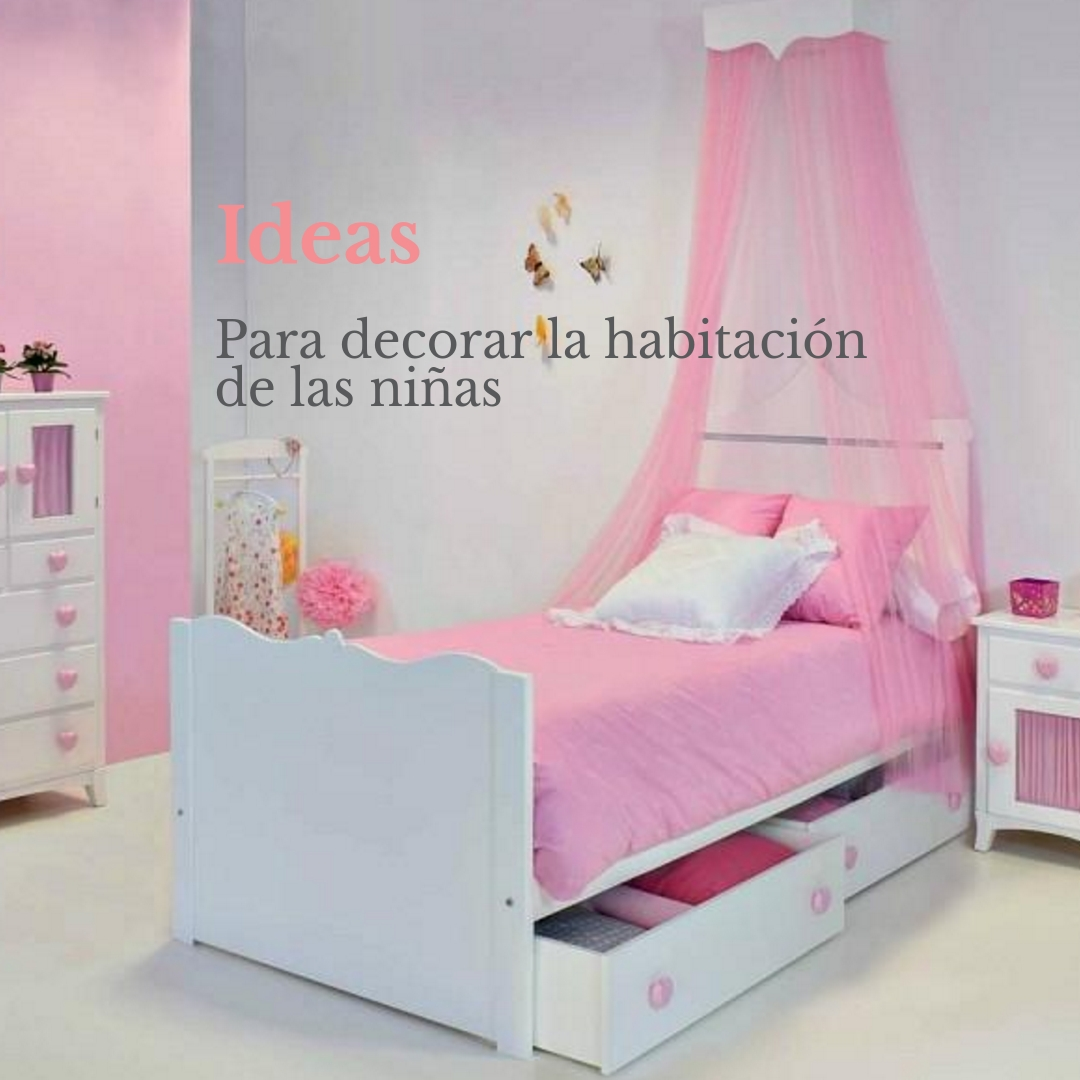Ideas para decorar la habitaci n de las ni as bainba blog - Decorar una habitacion de nina ...