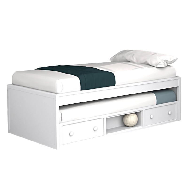Cama compacta modelo Origen para el dormitorio de un niño