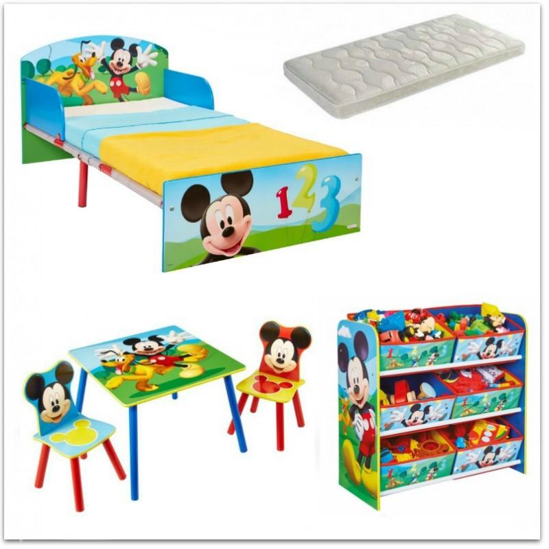 Dormitorio temático Mickey Mouse de Disney