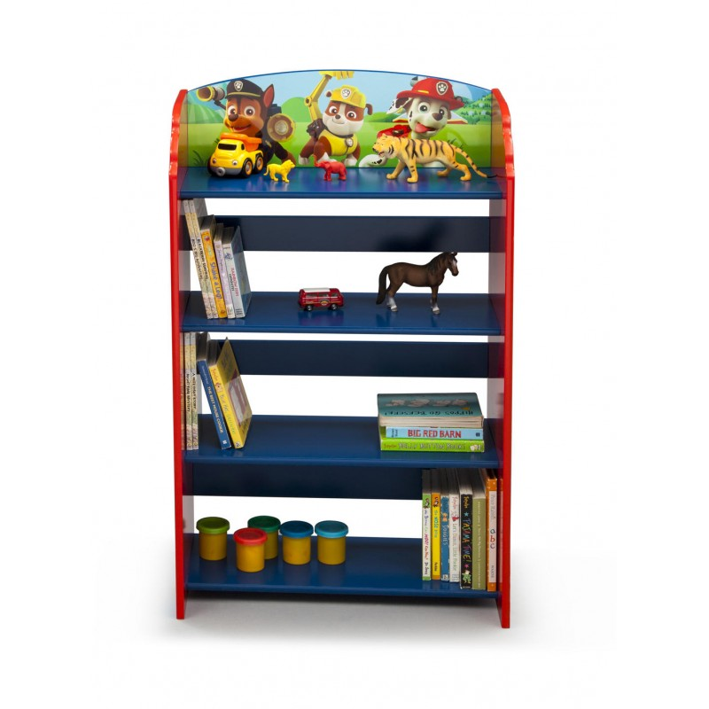 EStante infantil Patrulla Canina para decorar habitación de niño