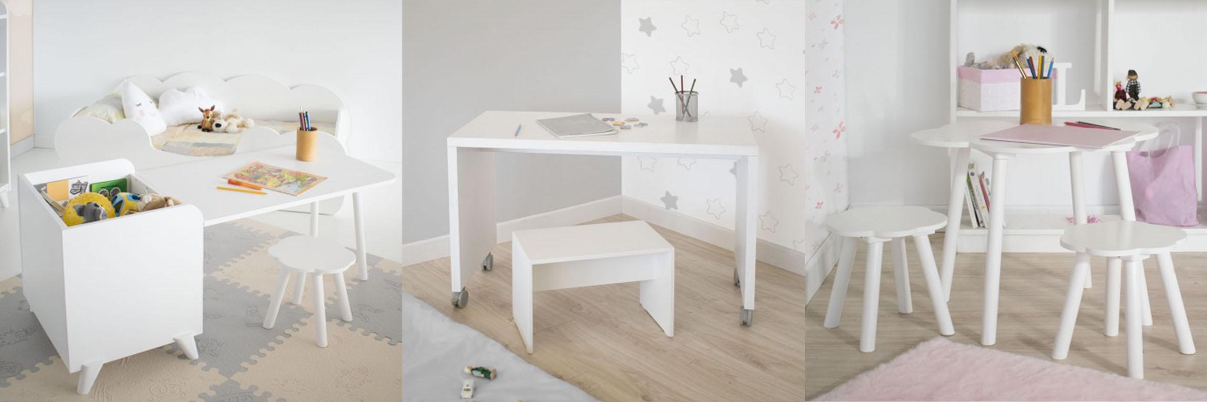 Mesas y jugueteros Montessori Bainba