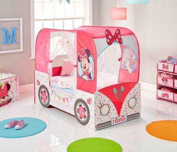 Cama coche Minnie Mouse