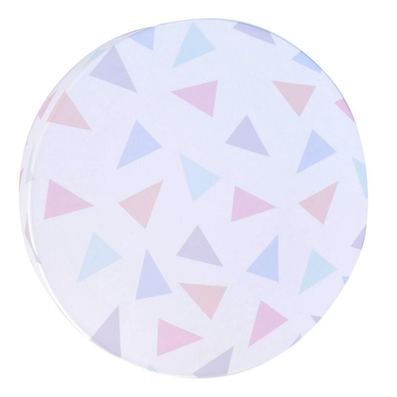 Aplique infantil para la pared modelo Triángulos