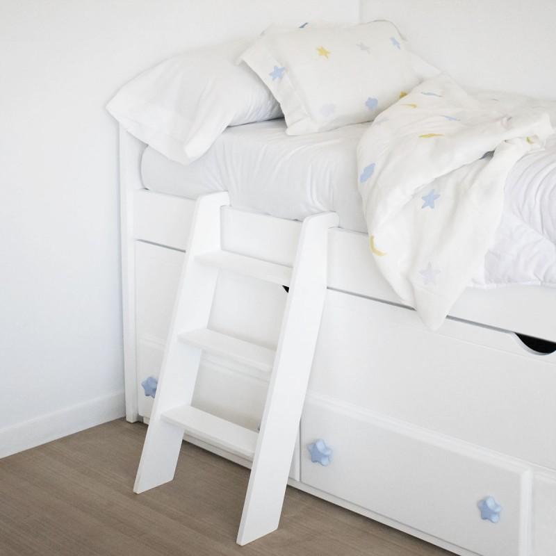 Escalera infantil para camas compactas