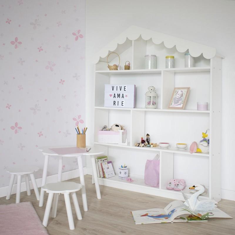 Estantería infantil casita