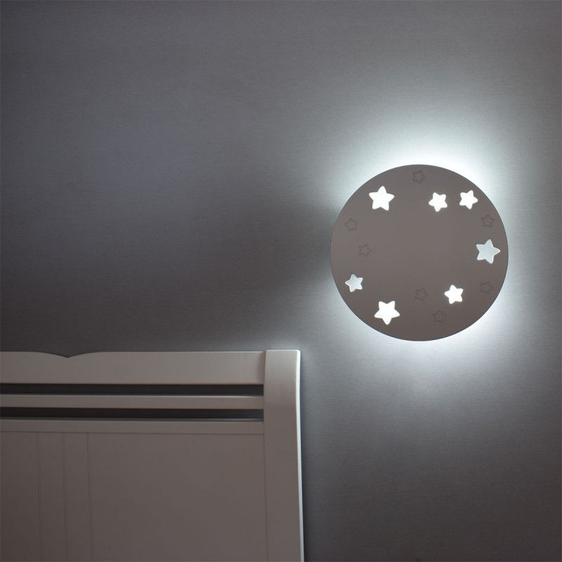 Lámpara de pared quitamiedos Luna