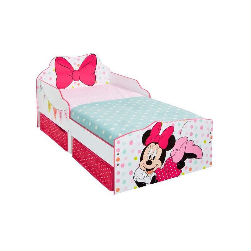 Cama infantil Minnie Mouse con cajones