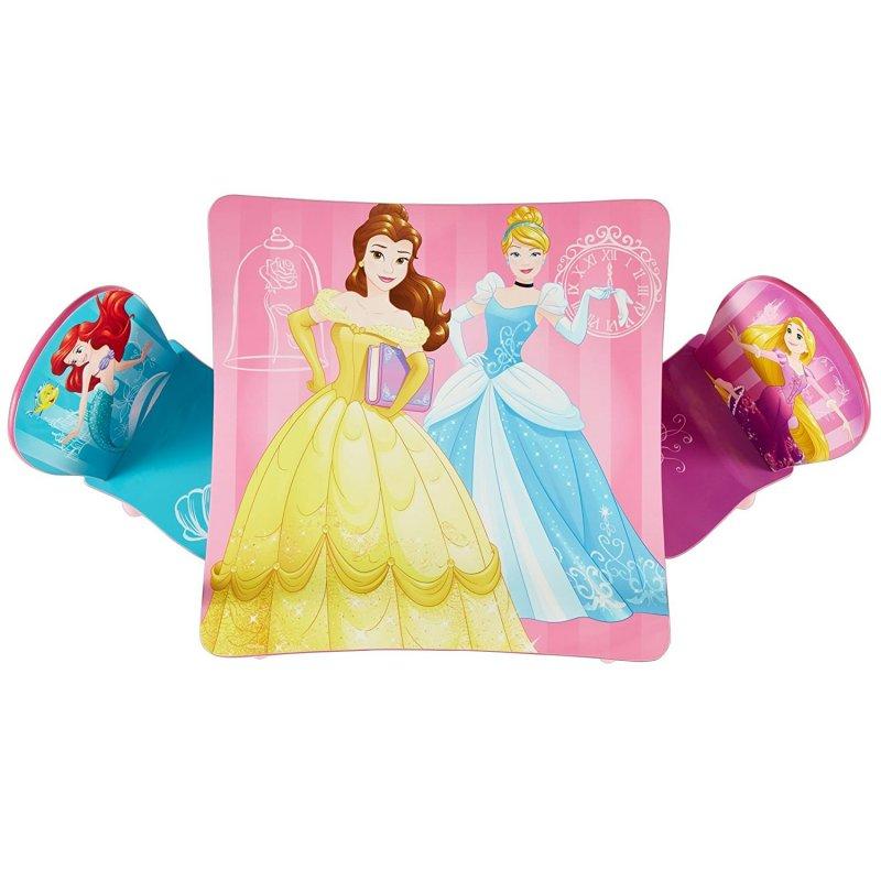 Mesa infantil con sillas Princesas Disney