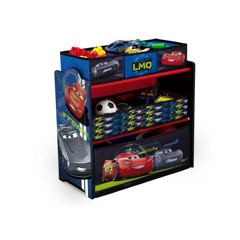 Organizador de juguetes Cars Disney