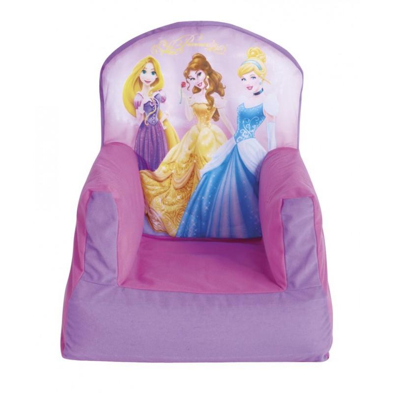 Sillón infantil Princesas Disney