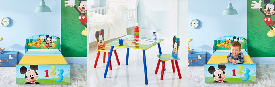Mobiliario infantil Mickey Mouse Bainba