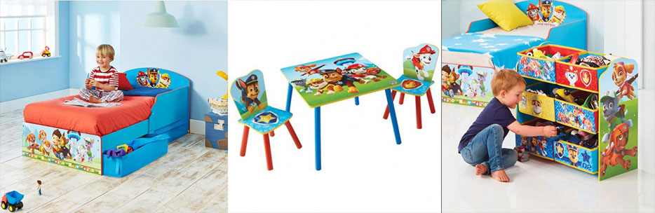 Mobiliario infantil Patrulla Canina Bainba