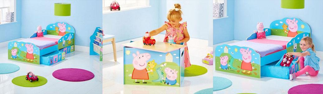 Mobiliario infantil Peppa Pig Bainba
